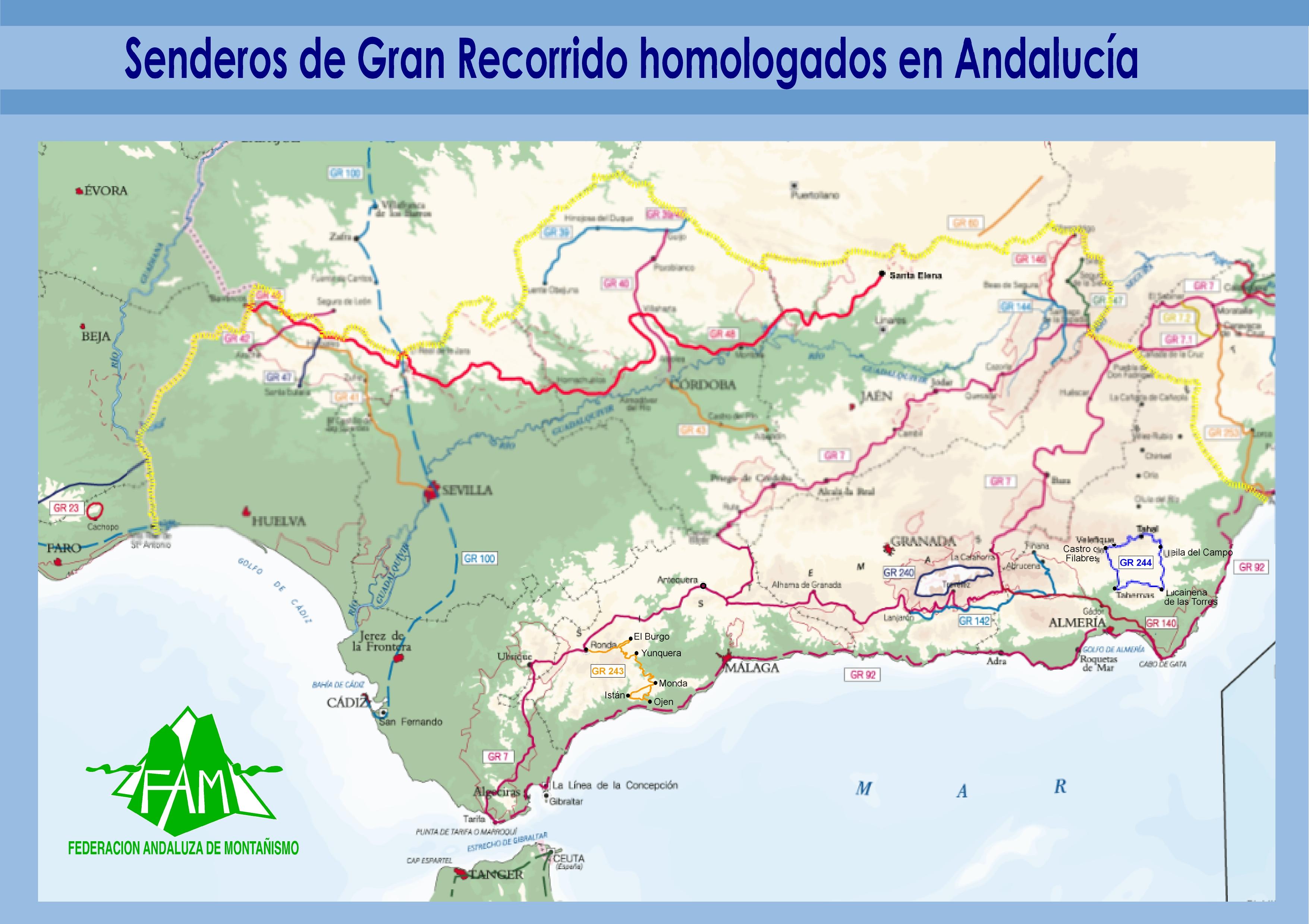 SENDEROS DE GRAN RECORRIDO